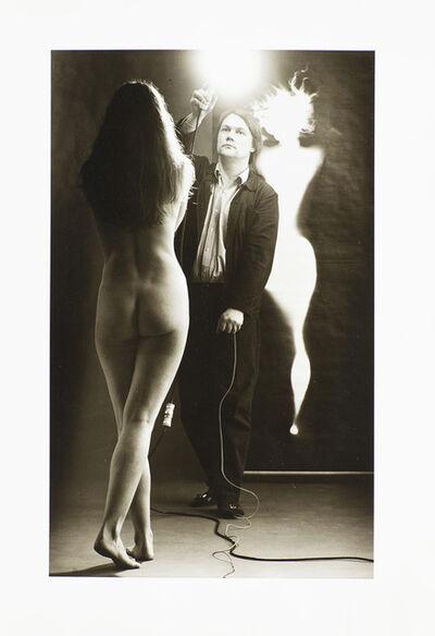 Floris Neusüss, 'Prinzip Fotogramm (Self Portrait) ', 1972