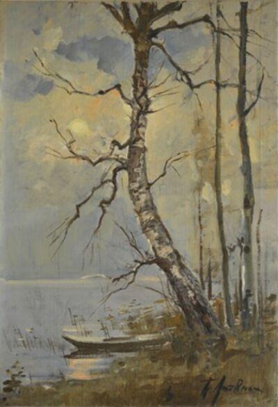 Petr Petrovich Litvinsky, 'Full moon night', 1952