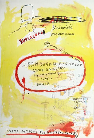Jean-Michel Basquiat, ''Supercomb'', 1988