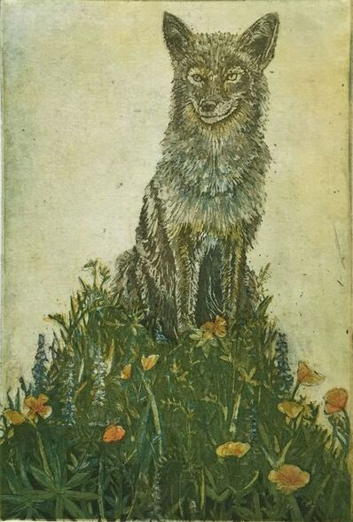 Julia Lucey, 'Spring Coyote', 2014