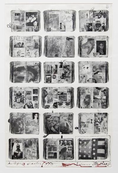 Peter Beard, 'Bicentennial Diaries (A)', 1996