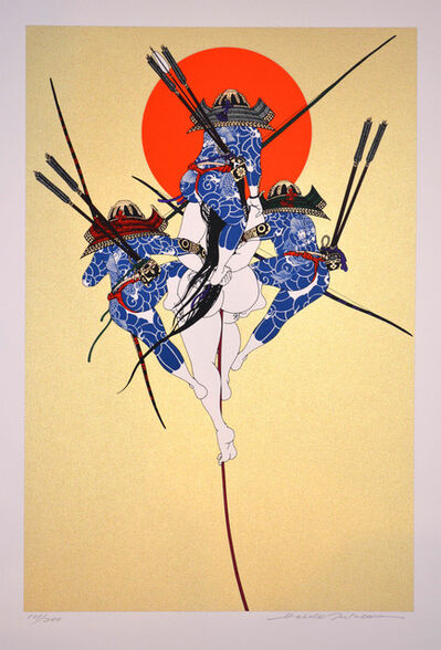 Hideo Takeda, 'Minamoto Clan at the Dan-no-Ura Battle', 1985-1999