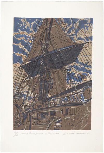 Richard Demarco, 'Maria Assumpta Off The Kent Coast', 1991