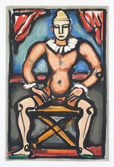 Georges Rouault, 'Child of the Circus', 1935
