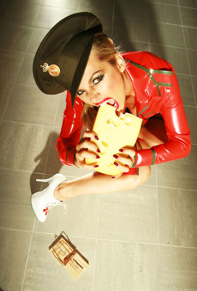 Christophe Mourthé, 'The cheese trap', 2005