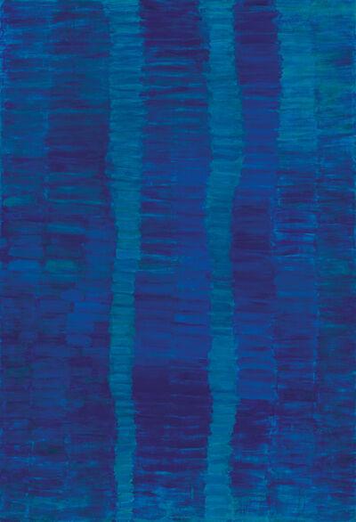 Françoise Sullivan, 'Bleu no. 1', 1996-1997