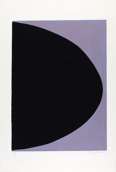 Sir Terry Frost, 'Black On Mauve Grey (Kemp 42)', 1968