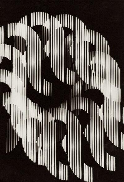Nicolas Schoffer, 'Série Univers Tramé (Varetra Diversicateur Optique) Nr.6', 1974