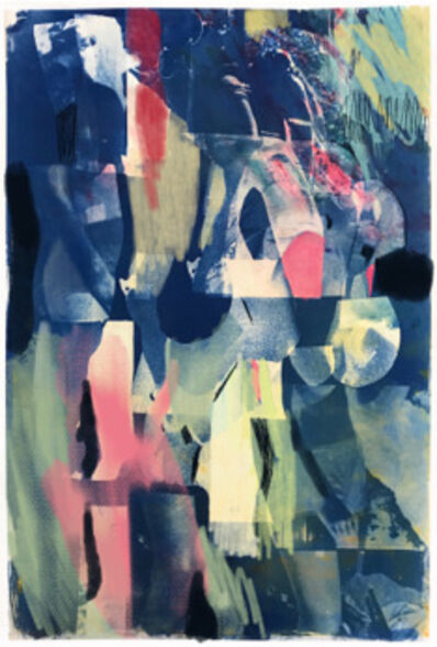 Tina Graf, 'Akt den Berg aufsteigend, Nr. 1 (Nude ascending the mountain, No. 1)', 2019