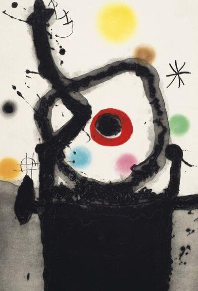 Joan Miró, 'Le Rebelle', 1967