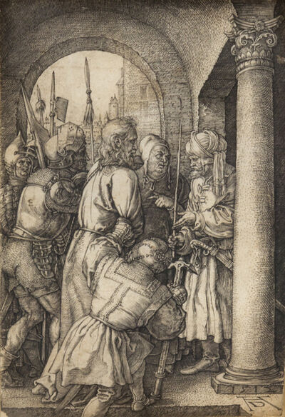 Albrecht Dürer, 'Christ before Pilate (from The Engraved Passion)', 1512
