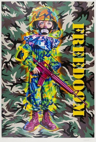 Ron English, 'Camo Tramp Boy (Freedoom)', 2008