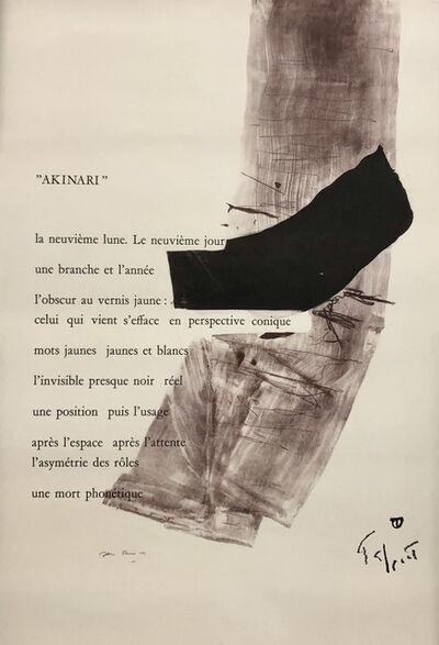 Pierre Tal-Coat, 'Placard Daive', 1978