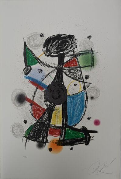 Joan Miró, 'Arlequin Artificier ', 1980