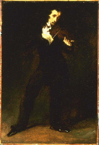 Eugène Delacroix, 'Paganini', 1831
