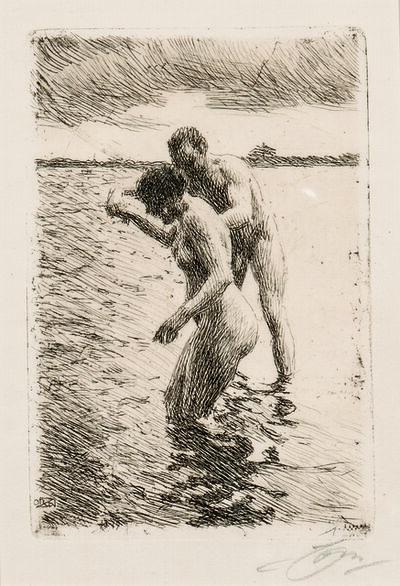 Anders Leonard Zorn, 'Pilot', 1919