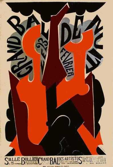 Natalia Goncharova, 'GRAND BAL DE NUIT - WITH LETTERING', 1923