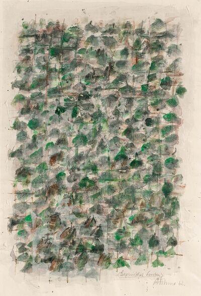 Gerhard Hoehme, 'Japanischer Garten', 1962