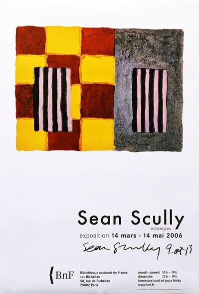 Sean Scully, 'Sean Scully Estampes, France (Hand Signed)', 2006