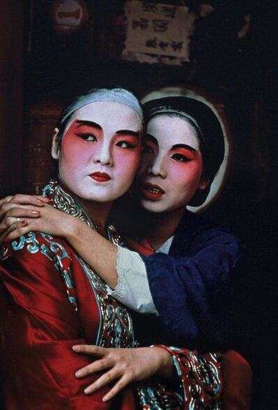 Steve McCurry, 'Opera Singers, China', 1984