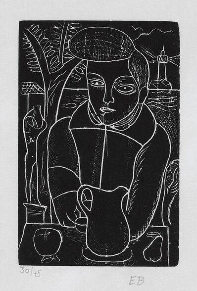Edward Burra, 'Boy with a Jug', 1928-9