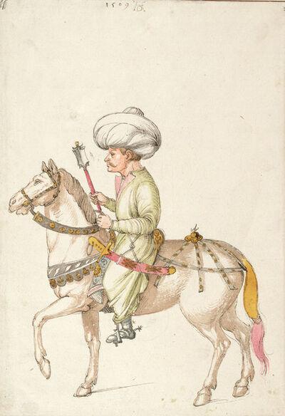 Albrecht Dürer, 'Oriental Rider', c. 1495