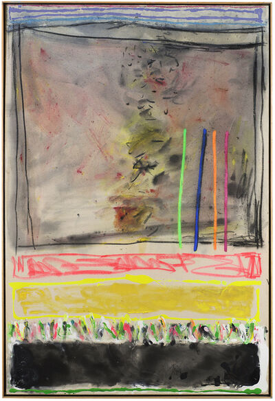Joyce Weinstein, 'Country Fields with a Pink and Yellow', 2012