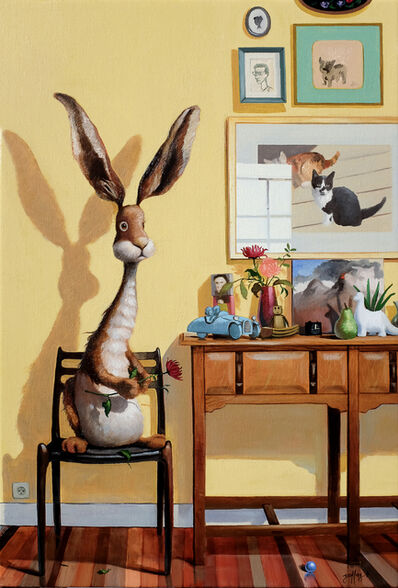 Geoffrey Gersten, 'Rabbit in The House', 2019