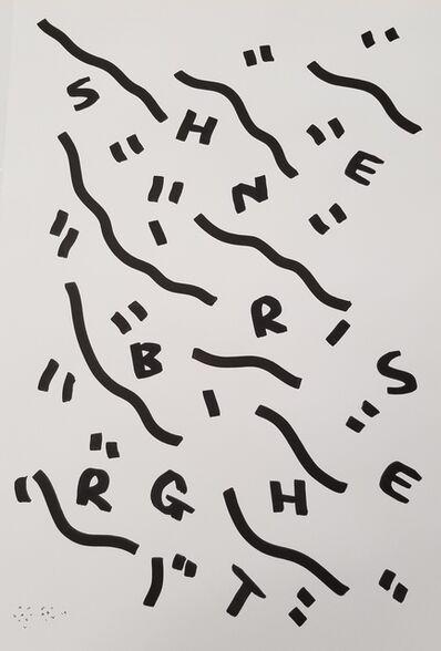 Shantell Martin, 'SHINE BRIGHT RISE', 2019
