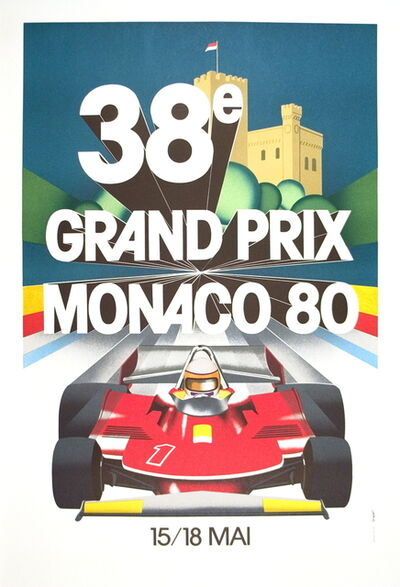 J. Grognet, 'Monaco Grand Prix 1980', 1989