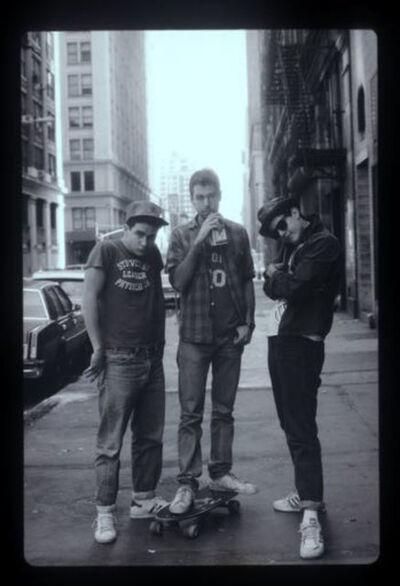 Sunny Bak, 'Boys on 18th Street (BB08)'