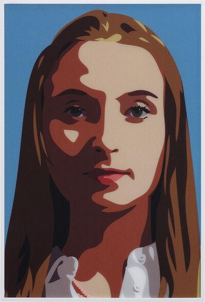 Julian Opie, 'Elena Rolling Her Eyes', 2015