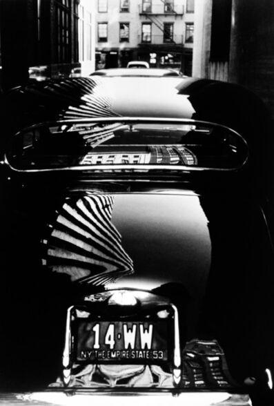 Werner Bischof, 'Reflection on car, New York, USA', 1953