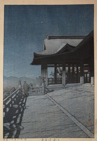 Kawase Hasui, 'Kiyomizu Temple, Kyoto', 1933
