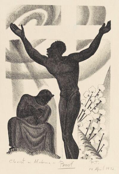 Prentiss Taylor, 'Christ in Alabama, from the portfolio Scottsboro', 1932