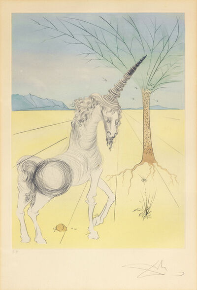 Salvador Dalí, 'Joseph, from the Twelve Tribes of Israel', 1973