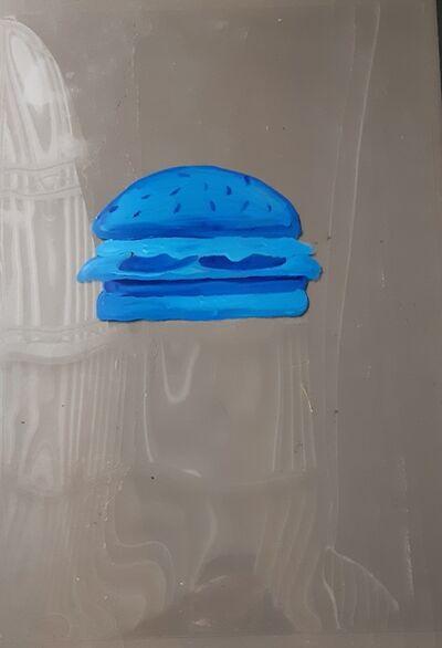 Oscar Figueroa, 'Blue Hamburger', 2019