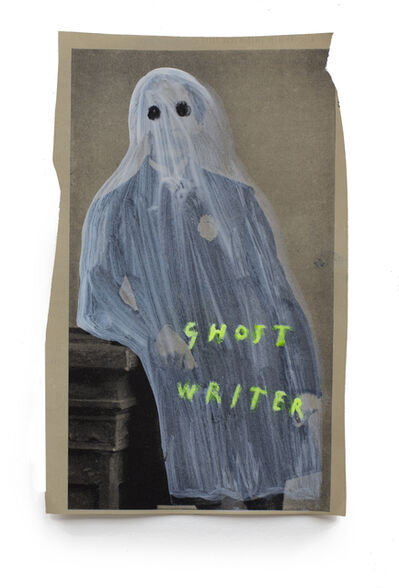 Oliver Jeffers, 'Ghost Writer', 2018