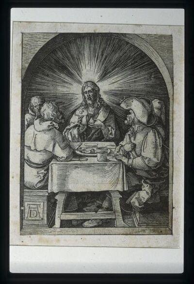 Albrecht Dürer, 'Christ at Emmaus', 1508-1510