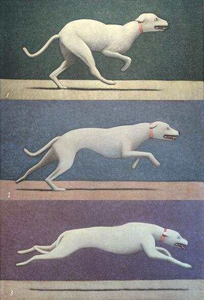 Andrew Nixon, 'Dogs 1-2-3', 2013