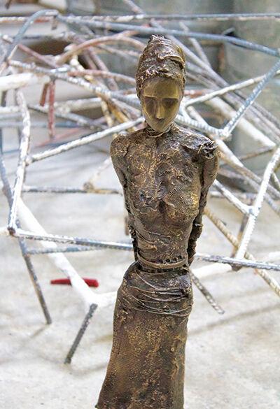 Anne De Villeméjane, 'Walking Woman Bust', 2017