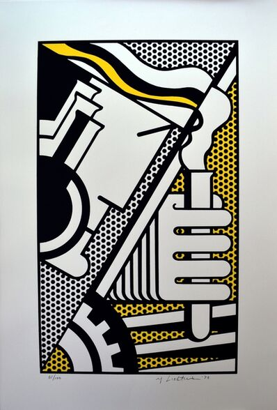 Roy Lichtenstein, 'Chem 1A', 1970