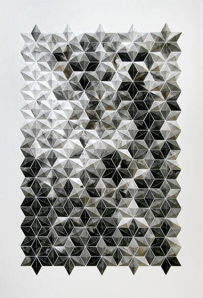 Matt Shlian, 'Breath Castles in Black and Gold', 2015