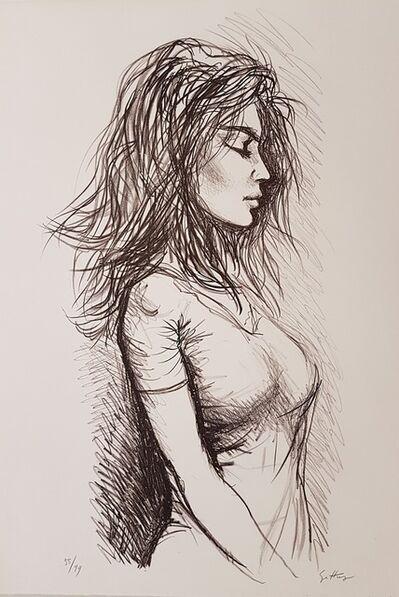 Renato Guttuso, 'Woman', 1971