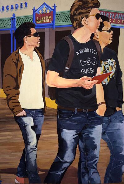 Cuyler Etheredge, 'At the Santa Monica Pier', 2014