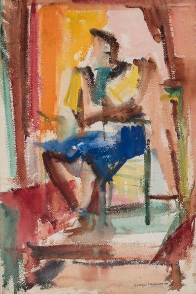 Giorgio Cavallon, 'Women Sitting', 1938
