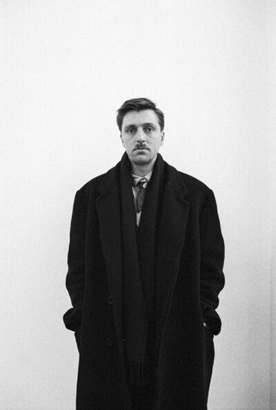 Benjamin Katz, 'Albert Oehlen, Kreffeld', 1987