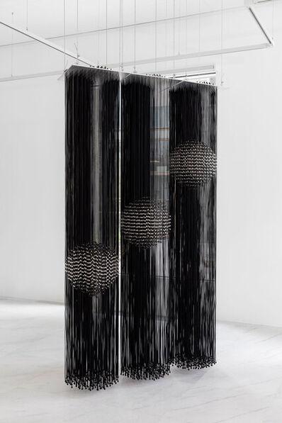Eva LeWitt, 'Hanging Sphere (75), Hanging Sphere (56.5) and Hanging Sphere (43)', 2021