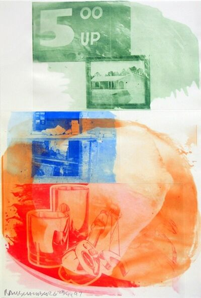 Robert Rauschenberg, 'Collateral, from Ground Rules', 1997