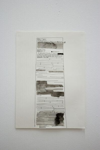 José Miguel del Pozo, 'Informe', 2016